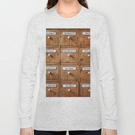 Pharmacy storage Long Sleeve T-shirt