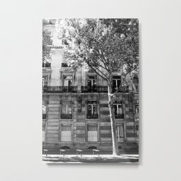 Paris Being Classy Metal Print