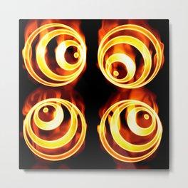 Fire balls Metal Print