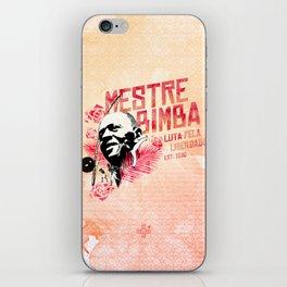 Mestre Bimba - CAPOEIRA RULES iPhone Skin
