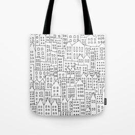 Coit City Pattern 1 Tote Bag