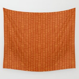 Net_orange Wall Tapestry