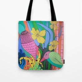 Shifty Eyed Tote Bag