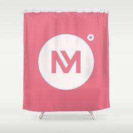Minervalerio Shower Curtain