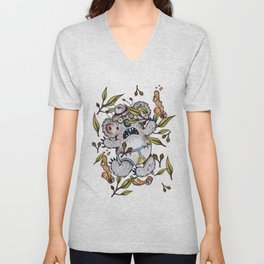 Intoxicated Aussie Drop Bear Unisex V-Neck