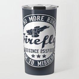 Misbehave Badge V1 Travel Mug