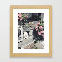 Soft Vintage Morning Framed Art Print