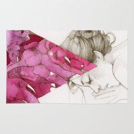 Pink Elephants Rug