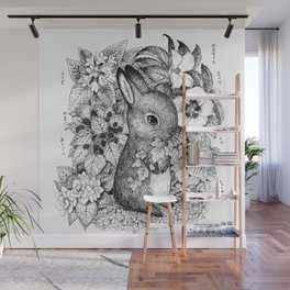 a hare Wall Mural