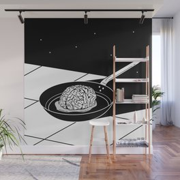 Overthinking Wall Mural