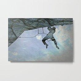 Climb On Metal Print