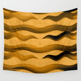 """""""Abstract Oriental Tiger"""" Wall Tapestry"""