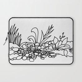 Tropical Garden Path Laptop Sleeve