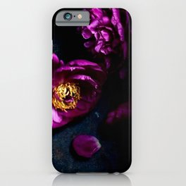 Dark Blossoms iPhone Case