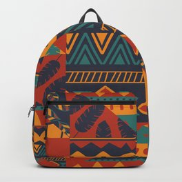 Tribal Abstract Wallpaper Backpack