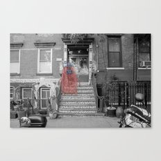 Unseen Monsters of New York - Raconteur Kibitzer Canvas Print