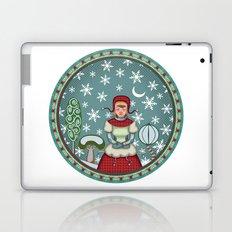 peaceful snow 2 Laptop & iPad Skin