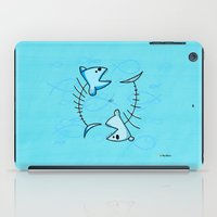 pisces iPad Cases featuring Pisces by Giuseppe Lentini