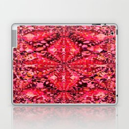 Red Caleidoscope Laptop & iPad Skin