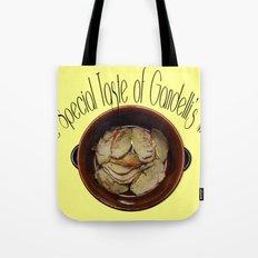 The special taste of Gandelli's meat Tote Bag
