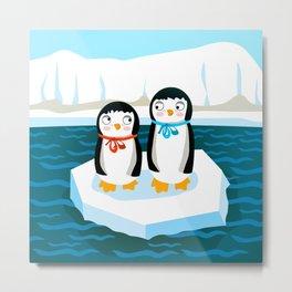 Pinguin Metal Print
