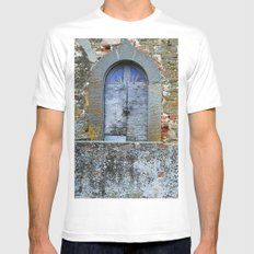 Old House in Italy Mens Fitted Tee MEDIUM White