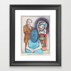 Einstein's Relative Theories Framed Art Print