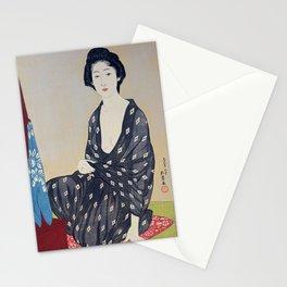 Woman in a Summer Garment by Hashiguchi Goyo, 1920 Stationery Cards
