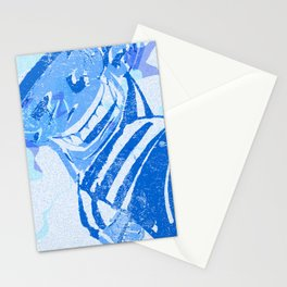 Blue victory Stationery Cards