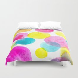 Confetti paint Duvet Cover
