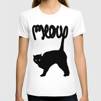 meow T-shirts featuring Meow by Florent Bodart / Speakerine