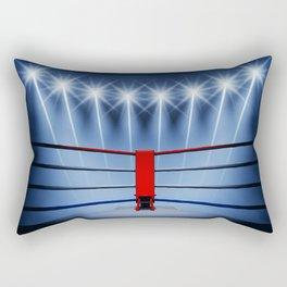 Boxing arena Rectangular Pillow