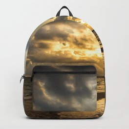 Golden Summer Evening Backpack