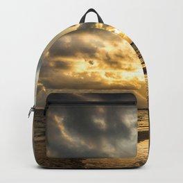 Golden Summer Evening Backpack