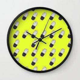 Take a neon pill Wall Clock