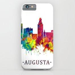 Augusta Georgia Skyline iPhone Case