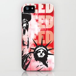 Freedom - Red iPhone Case