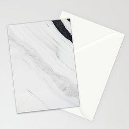 Elegant White Marble Stationery Cards