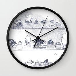 Mineral City II Wall Clock