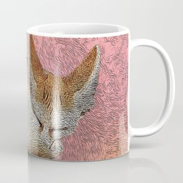Sleeping fox. Coffee Mug