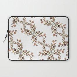 Elegant lace autumn pattern Laptop Sleeve