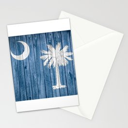 South Carolina State Flag Barn Wall Print Stationery Cards