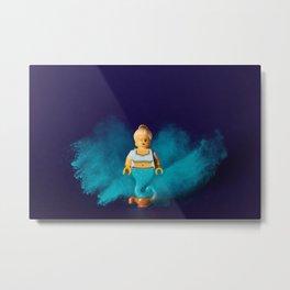 Genie Metal Print