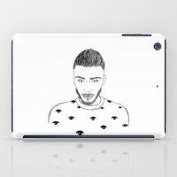 zayn iPad Cases featuring Zayn Malik by Aurora