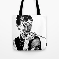 Zombie at Tiffany's Tote Bag
