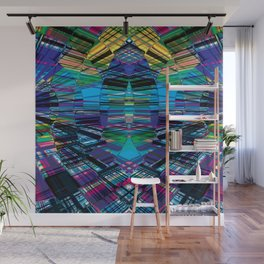 Cyber dimension Wall Mural