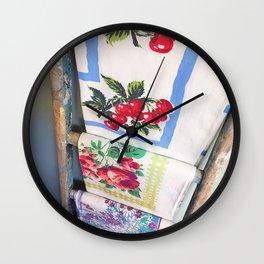 Farmhouse Fresh Wall Clock