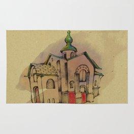 Russian church Rug