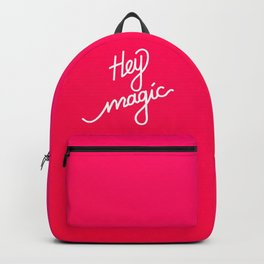 Hey magic   [gradient] Backpack