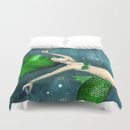 Emerald (May) Duvet Cover